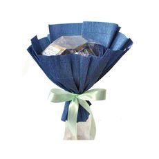 Букет из чая - Василек - Подарочный набор чайный букет