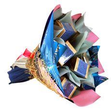 Букет из чая  - Артишок испанский - Подарочный набор чайный букет