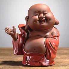 Игрушка для чайной церемонии Большой Будда -  глина, эмаль