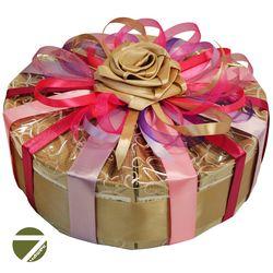 Торт Сливочный бисквит - Подарочный набор из чая и кофе купить за 3960 руб.