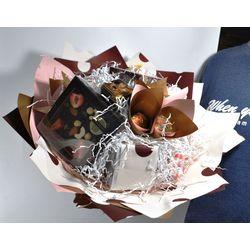 Букет из чая - Душистый горошек - Подарочный набор чайный букет купить за 3900 руб.