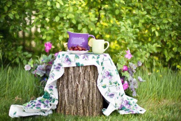 Чай с дачи из трав и ягод