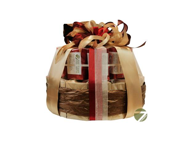 Торт Вишня в шоколаде - Подарочный набор из чая и кофе