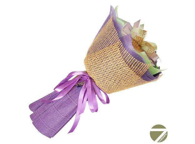 Букет из чая - Ирис - Подарочный набор чайный букет