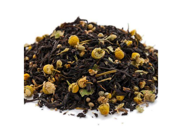 Липовый мед 100 гр - Черный чай с травами