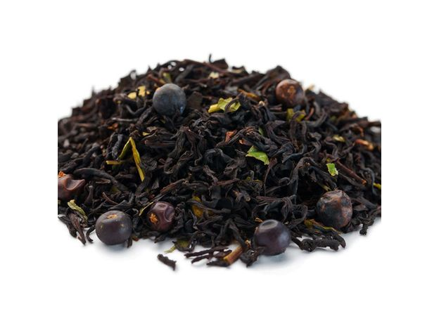 Вечерняя звезда 100 гр - Черный чай с добавками