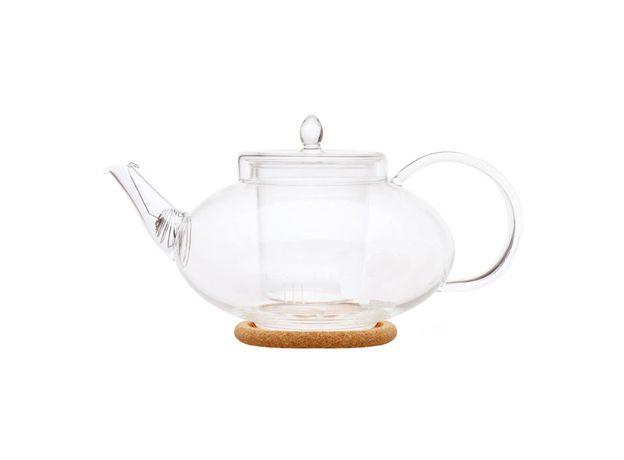Чайник стеклянный Душистая лилия 1000 мл