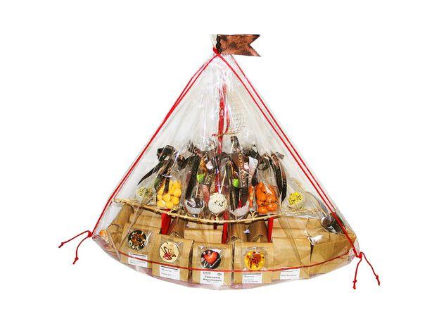 Корабль Дары Апполона - Подарочный набор из кофе и сладостей