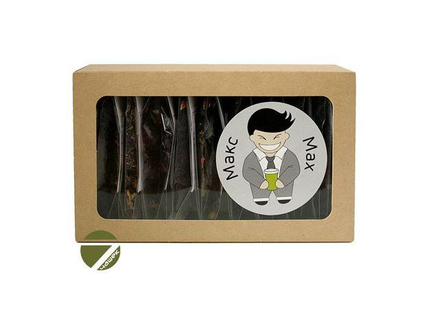 Чайный сет Макс - Коллекция черного чая с натуральными добавками