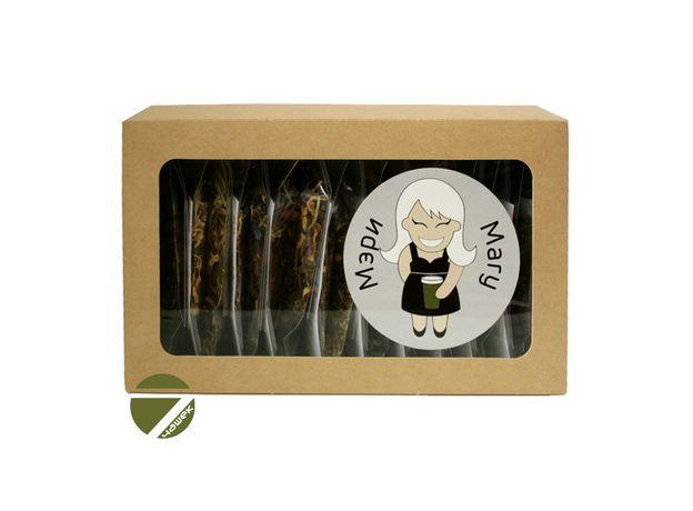 Чайный сет Мэри - Коллекция зеленого чая с натуральными добавками