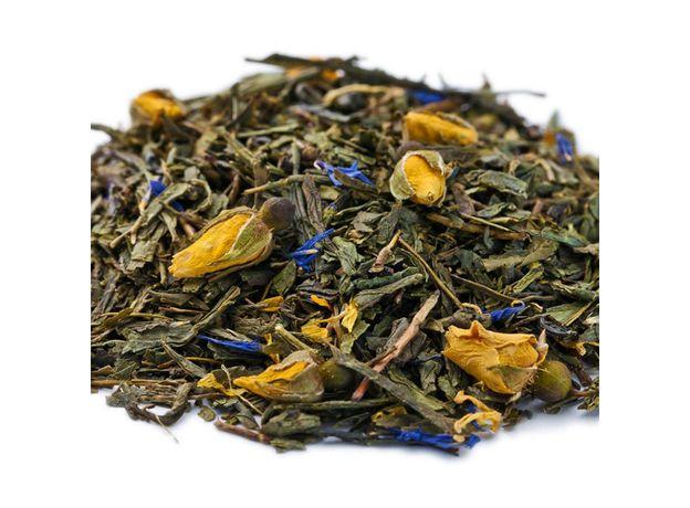 Роза Парижа 50 гр - Зеленый чай с цветами