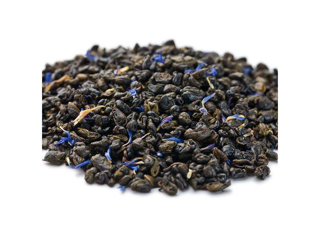 Черника со сливками 50 гр - Зеленый чай с добавками