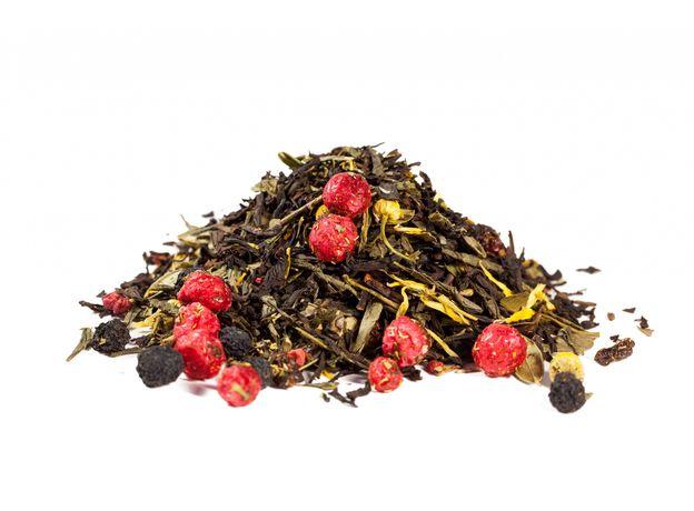 Барская усадьба 50 гр - купаж черного и зеленого чая с ягодно-цветочными добавками