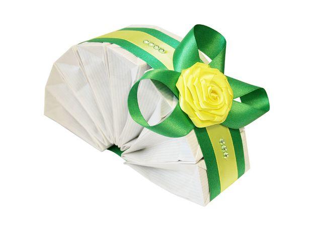 Подарочный чайный набор - Зеленая Роза