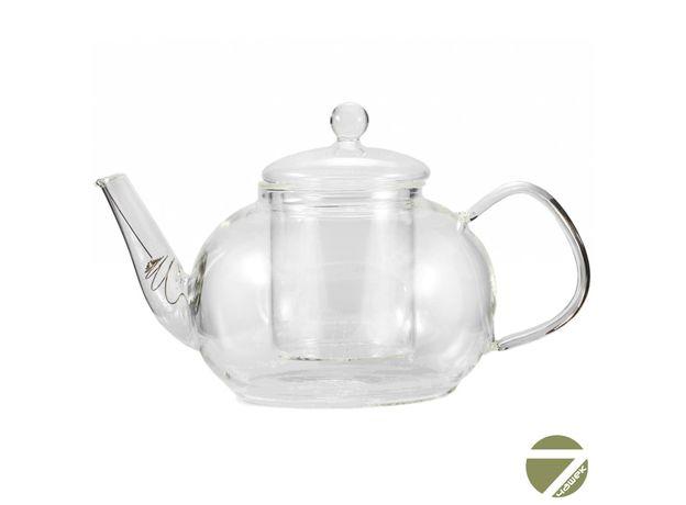 Чайник стеклянный Одуванчик с заварочной колбой 1200 мл