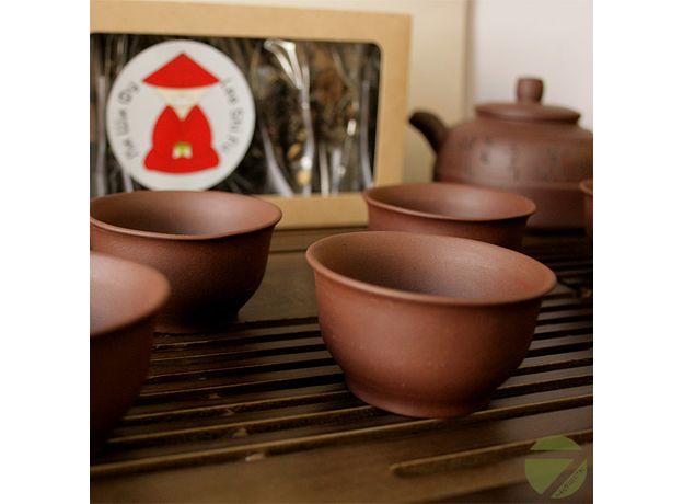 Хуан Хэ - Набор посуды для чайной церемонии, изображение 3