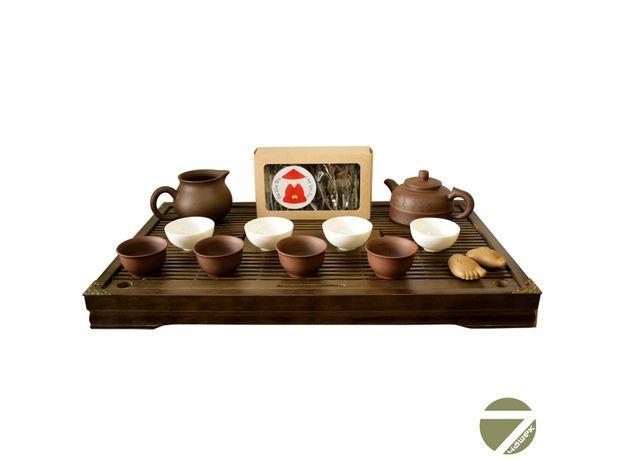 Хуан Хэ - Набор посуды для чайной церемонии, изображение 2