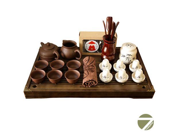 Знакомство с китайским чаем - Набор посуды для чайной церемонии