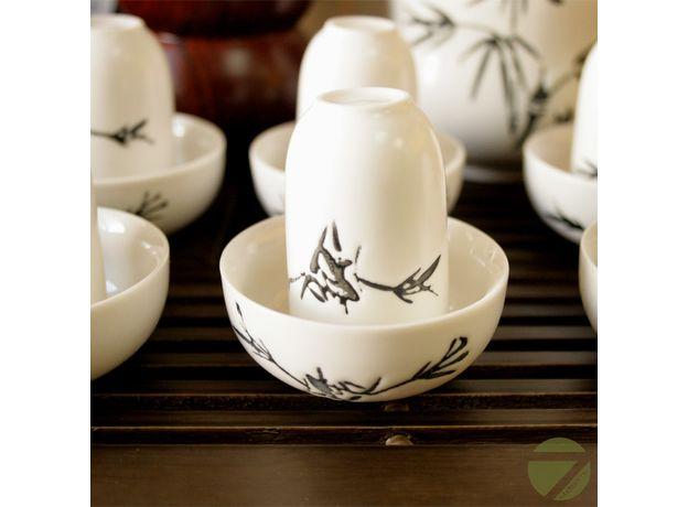 Знакомство с китайским чаем - Набор посуды для чайной церемонии, изображение 2