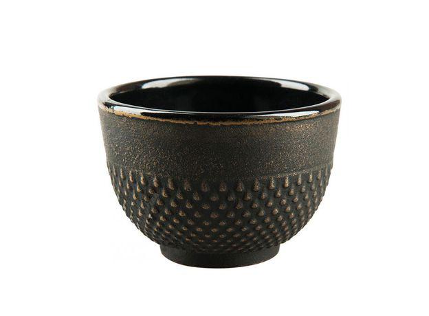 Чугунная чашка Золотистая кувшинка 150 мл