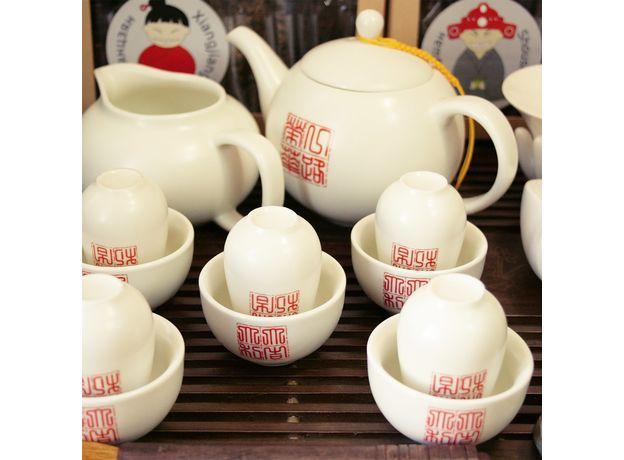 Большой набор посуды для чайной церемонии, изображение 2