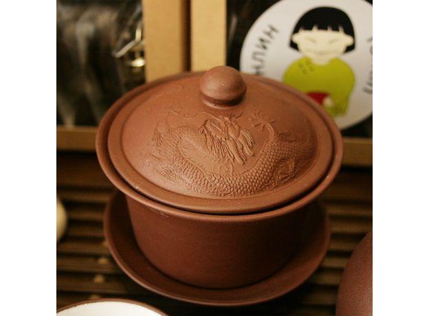 Большой набор посуды для чайной церемонии, изображение 6