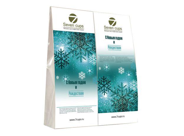 Подарочный набор из двух пакетиков с чаем - Снежный Новый Год