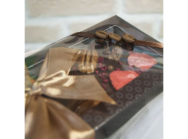 Букет из чая и кофе - Гладиолус - Подарочный набор чайно-кофейный букет, изображение 4