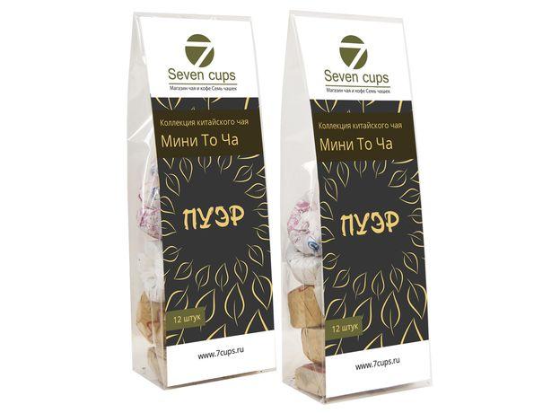 Коллекция китайского чая Пуэр Мини То Ча 12 штук