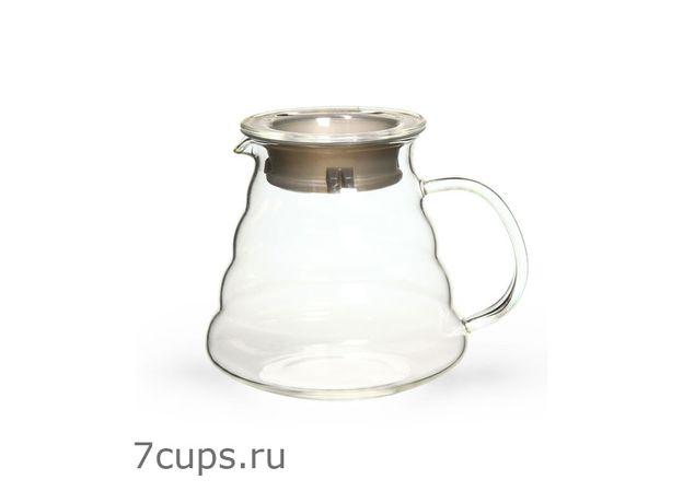 Чайник стеклянный сервировочный Тама 500 мл, изображение 2