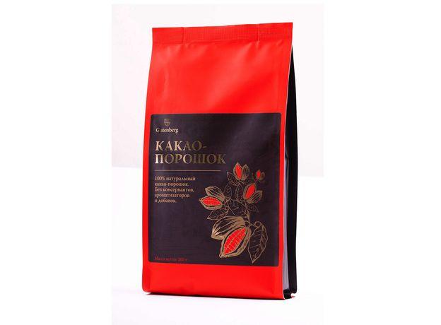 Какао-порошок натуральный растворимый 200 гр
