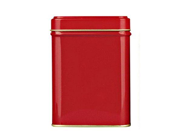 Банка для чая, сахара и конфет Красная 100 гр