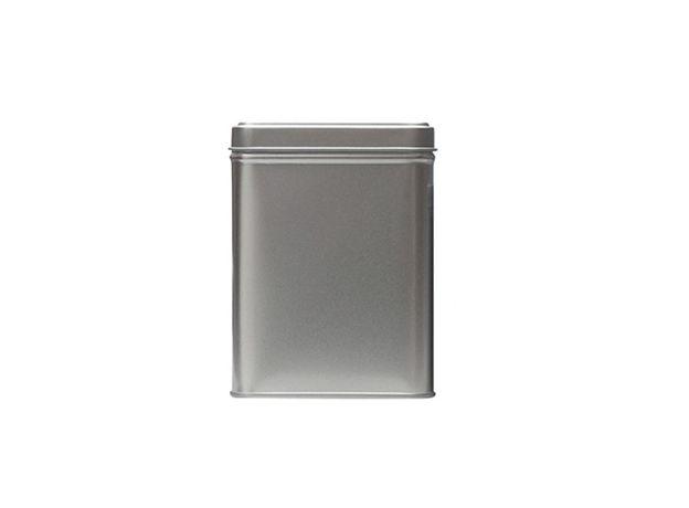 Банка для чая, сахара и конфет Серебряная 100 гр