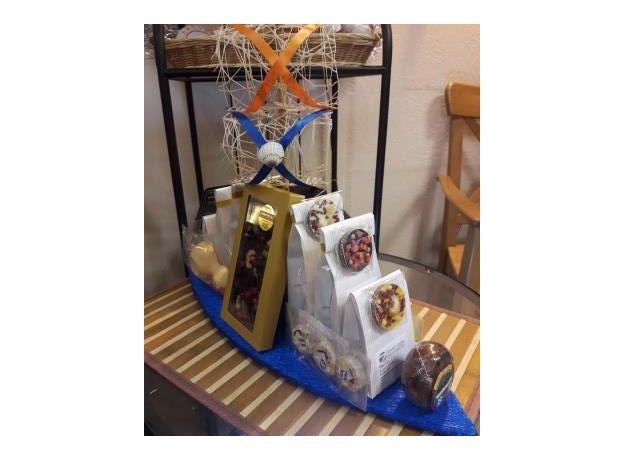 Корабль Удачи - Подарочный набор из чая и сладостей, изображение 2