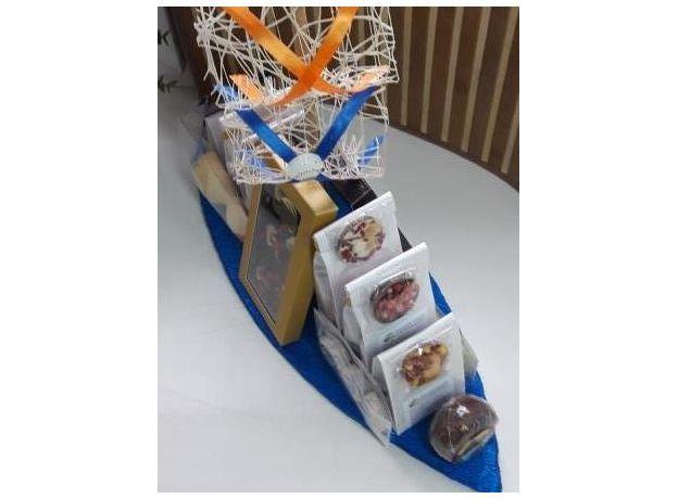 Корабль Удачи - Подарочный набор из чая и сладостей, изображение 3