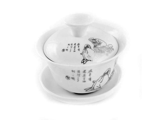 Два мудреца - Набор посуды для чайной церемонии, изображение 3