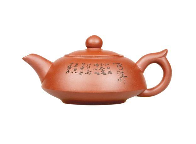 Глиняный чайник Семь знаков  250 мл