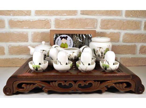 Журавли - Набор посуды для чайной церемонии