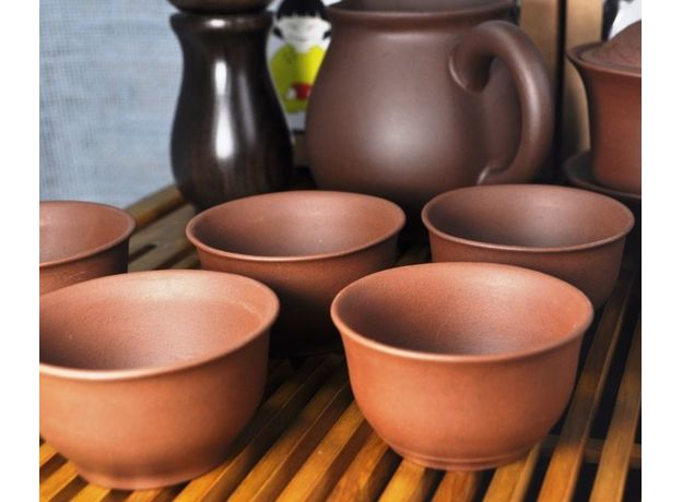 Набор с чайником и инструментами - Набор посуды для чайной церемонии, изображение 2