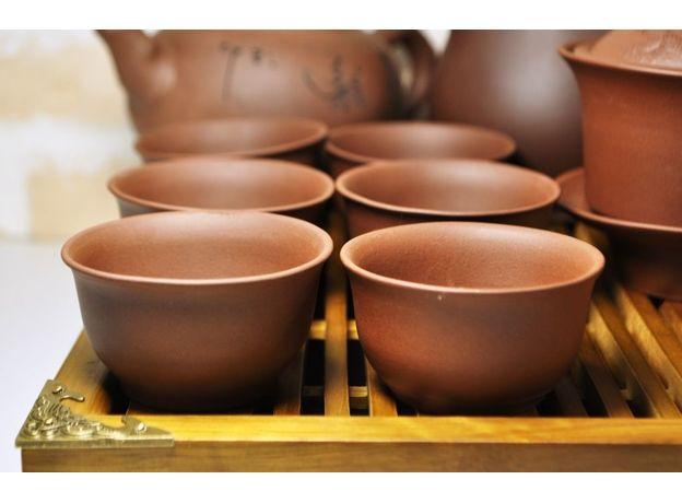 Большой набор посуды для чайной церемонии, изображение 5