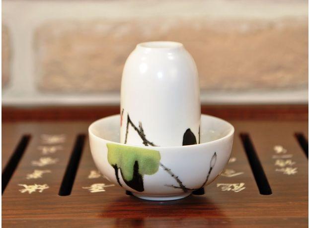 Журавли - Набор посуды для чайной церемонии, изображение 3