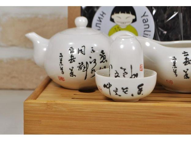 Письмена  - Набор посуды для чайной церемонии, изображение 2