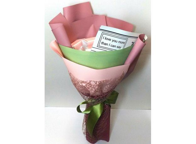 Букет из чая - Гиацинт розовый - Подарочный набор чайный букет, изображение 3