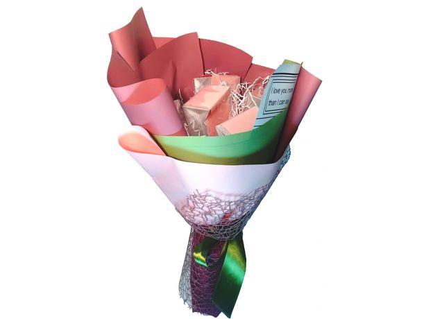 Букет из чая - Гиацинт розовый - Подарочный набор чайный букет, изображение 2