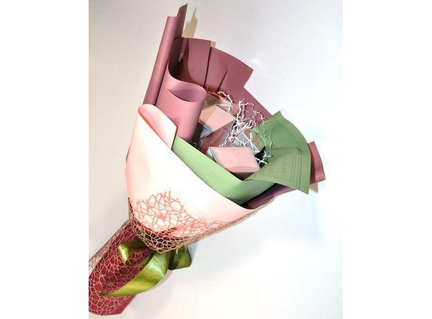 Букет из чая - Гиацинт розовый - Подарочный набор чайный букет, изображение 4