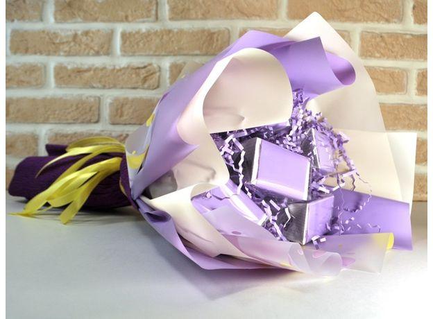 Букет из чая - Лобелия - Подарочный набор чайный букет