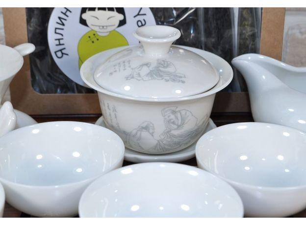 Два мудреца - Набор посуды для чайной церемонии, изображение 2