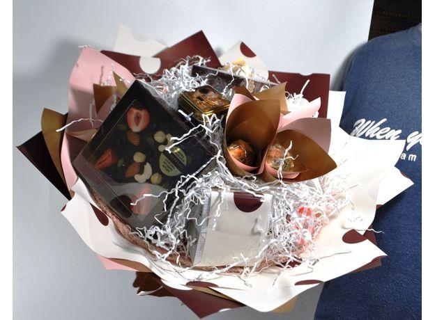 Букет из чая - Душистый горошек - Подарочный набор чайный букет, изображение 3