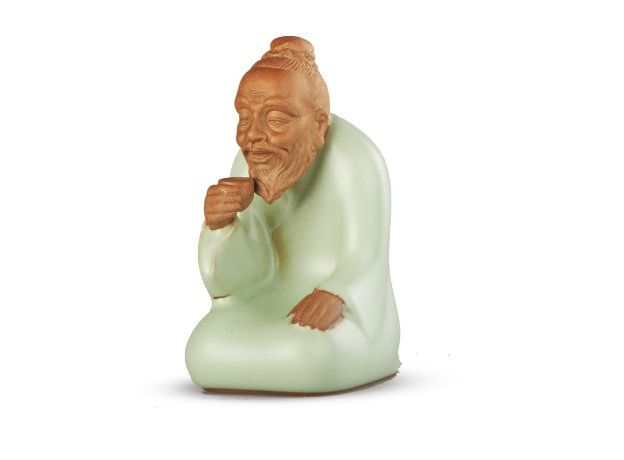 Игрушка для чайной церемонии Монах -  глина, эмаль