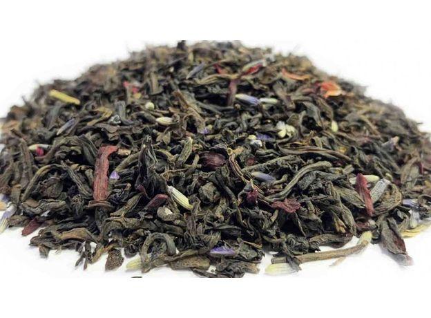 Классический с лавандой 100 гр - Черный чай с добавками